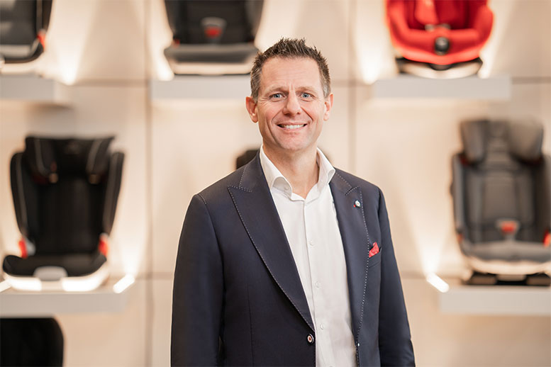Erwin Wieffering is new Managing Director and President of Britax Römer