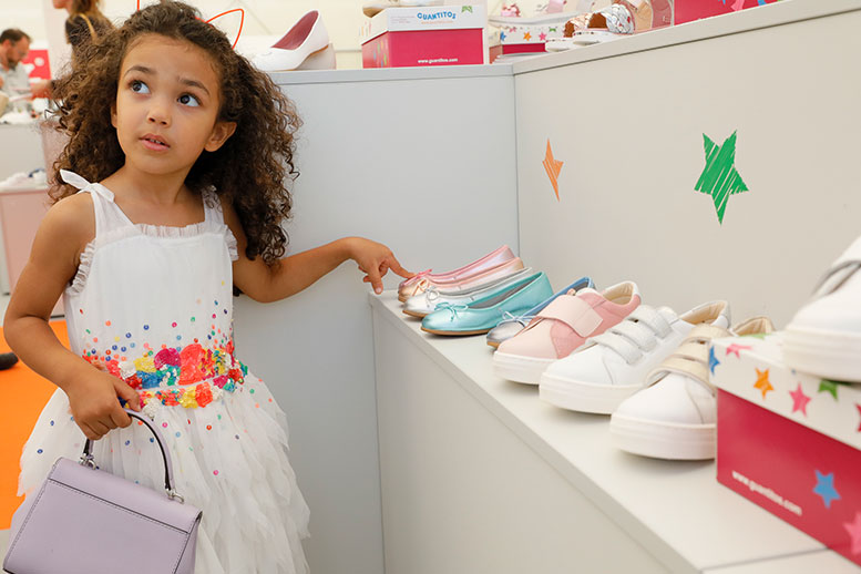 Gallery Shoes presents colourful trends in the Kids' Zone