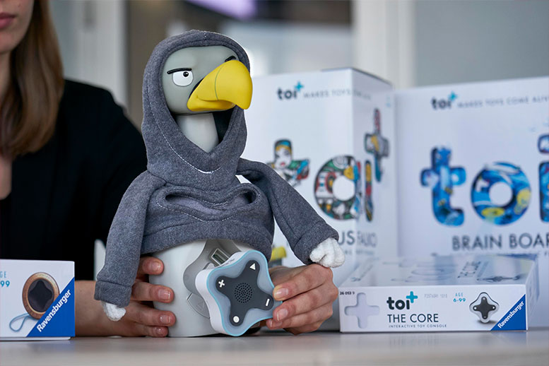 Ravensburger launches new toi+ game console on the market in autumn
