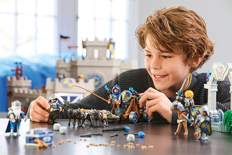 Playmobil with sales growth and expansion plans towards the USA
