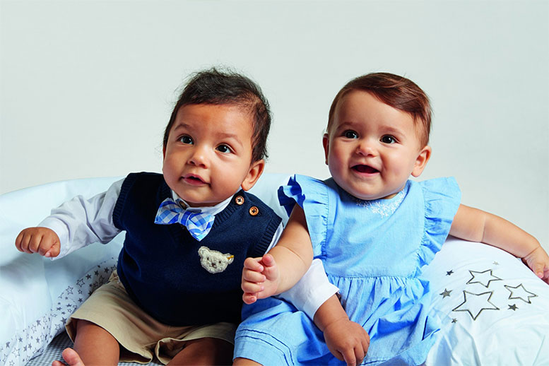 Steiff introduces GOTS certified children's clothing