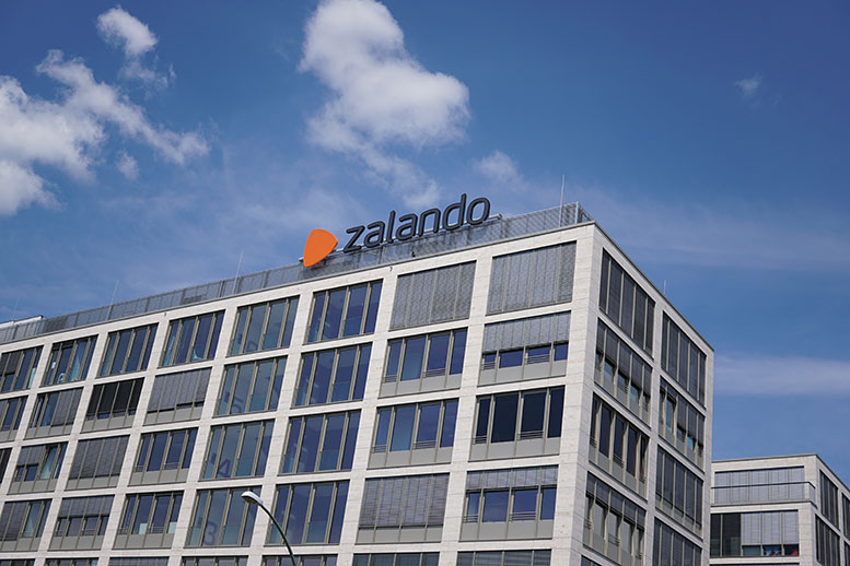 Zalando is committed to environmentally friendly online trading