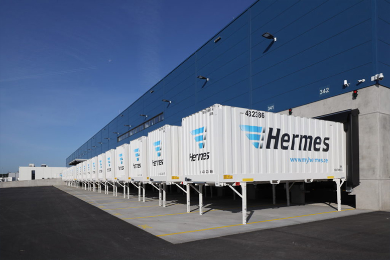 Hermes invests heavily in the fight against the flood of parcels